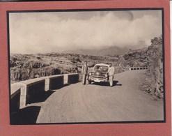 ILES CANARIES De La PALMA Route Du Nord 1950 Photo Amateur Format Environ 5,5 Cm X 7,5 Cm - Orte