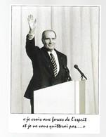 """FRANCOIS MITTERRAND """"extrait Du Discours D'adieu Prononcé Le Jour De Son Départ De L'Elysée - People"""