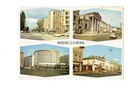 Cpm - 92 -  BOURG La REINE - Multivues - Voiture 2 CV CITROEN AMI 6 - Immeuble - MONOPRIX MARTIN LAVIGNE TABAC - Bourg La Reine