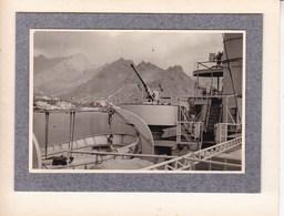 "ILES CANARIES TENERIFE SANTA CRUZ ""Kamina"" 1956 Photo Amateur Format Environ 5,5 Cm X 7,5 Cm - Lieux"