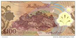 BRUNEI P. 29 100 Rinngit/Dollars 2004 UNC - Brunei