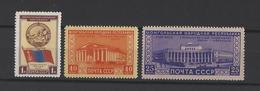RUSSIE.  YT  N° 1531/1533  Neuf *  1951 - Unused Stamps
