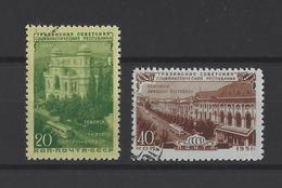 RUSSIE.  YT  N° 1534/1535  Obl  1951 - 1923-1991 USSR