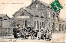 Bauvin: La Gare Bauvin-Provin (attelage De Chien) - Autres Communes