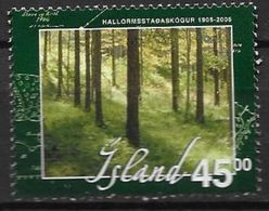 Islande 2005 N°1012 Neuf** Reboisement - Ungebraucht