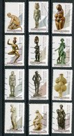 FRANCE 2019 /  AA 1695 A 1706  NUS DANS L'ART    Obl. Série Complète - Adhésifs (autocollants)