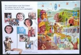 United Nations  2000 Geneva F.D.C. - Cartas