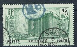 Senegal (French Colony), 45c+25c, Revolution, 150th Anniv., 1939, VFU - Oblitérés