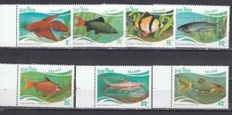 Vietnam 1988 - Poissons, Mi-Nr. 1896/902, Dent., MNH** - Vietnam