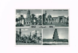 Multivues.Sit Zubaidah's Tomb,Bagdad.Adhamiah Mosque,The Tombs Of The Two Immams Of The Shiia Muslims. - Iraq