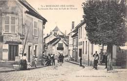 MONTIGNY SUR LOING - La Grande Rue Vers Le Café De L'Union - Other Municipalities