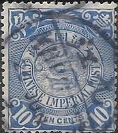 CHINA 1898 Dragon - 10c - Blue FU - China