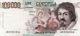 ITALIA   100000 LIRE  1983 P-110a  XF  Firme: Ciampi-Stevani - [ 2] 1946-… : Républic