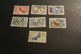 K24461- Stamps Used  Libanon  1965 -   Butterflies - - Mariposas