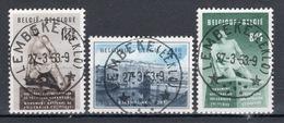 BELGIE: COB 860/862  MOOI GESTEMPELD. - Used Stamps