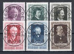 BELGIE: COB 892/897  MOOI GESTEMPELD. - Belgien