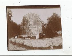 MARNANS (ISERE) PRES ROYBON PHOTO DE L'EGLISE SAINT PIERRE 1903 - Luoghi