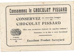 BUVARD  Chocolat PISSARD - Chocolat