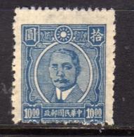 CHINA CINA 1945 1946 Dr. Sun Yat-sen 10$ NG - 1912-1949 Republik
