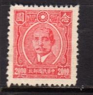 CHINA CINA 1945 1946 Dr. Sun Yat-sen 20$ NG - 1912-1949 Republik