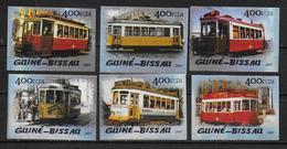 GUINEE BISSAU    N° 1926/31 * *  NON DENTELE Tramways - Tramways