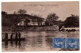 56 SAINT GRAVE - L'écluse Et La Chute Du Guesclin - Cpa Morbihan - Autres Communes