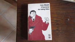 LEO MALET L'HOMME AU SANG BLEU POLAR COUVERTURE ILLUSTRE PAR TARDI TARDI - Tardi