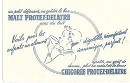 BUVARD  Malt Chicorée PROTEZ - DELAITRE - Café & Thé