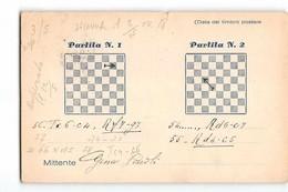 16402 01 PARTITA A SCACCHI - SALO X MILANO - CHESS - Schach