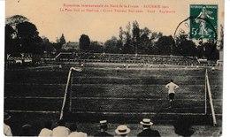Nord Exposition Internationnale Du Nord De La France  Roubaix 1911 Le Football Au Stadium Grand Tournoi  Nord-Angleterre - Roubaix