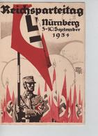 71PR/ Deutsches Reich PK Reischsparteitag Nürnberg 5-10 September 1934 C.Nürnberg 5/9/34 > Frankfurt - Briefe U. Dokumente