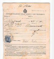 AG1789  CARPANETO X CAMINATE - 1900-44 Vittorio Emanuele III