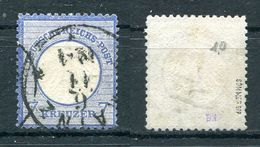 D. Reich Michel-Nr. 10 Vollstempel - Geprüft - Oblitérés