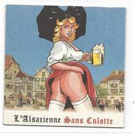 Sous-Bocks  L'Alsacienne Sans Culotte - Sous-bocks