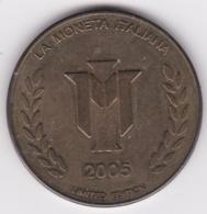 La Moneta Italiana 2005 Duomo Di Siena - Italia