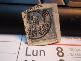 Timbre Sage 15 C Oblitéré. PARIS 86 CLEMENT-MAROT 1898 - 1876-1898 Sage (Type II)