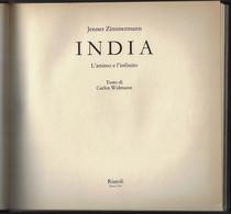 """Di Jenner Zimmermann """"INDIA L'attimo E L'infinito"""" Rizzoli 1986-pp.167-vedi Foto-------(557E) - Bibliographien"""