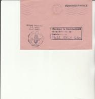 H 4 - Enveloppe Gendarmerie  Avec Cachet Prévôtal WITTLICH (FFA) - BPM 530 - Marcofilie (Brieven)