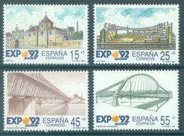 SPAIN - 1991 - MNH/** - EXPO 92 SEVILLA  - Yv 2711-2714 - Lot 20798 - 1931-Aujourd'hui: II. République - ....Juan Carlos I