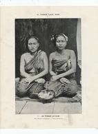 Du Tonkin Au Siam . Luang Prabang Marchandes Laotiennes . Lao Sellers . - Laos
