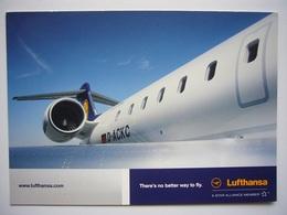 Avion / Airplane / LUFTHANSA / Bombardier CRJ900 / Airline Issue - 1946-....: Ere Moderne