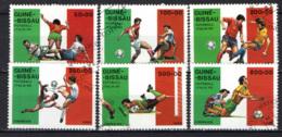 GUINEA BISSAU - 1989 - CAMPIONATO MODNIALE DI CALCIO - ITALIA '90 - USATI - Guinea-Bissau