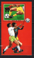 GUINEA BISSAU - 1989 - CAMPIONATO MODNIALE DI CALCIO - ITALIA '90 - SOUVENIR SHEET - USATO - Guinea-Bissau