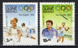 GUINEA BISSAU - 1983 - VERSO LE OLIMPIADI DI LOS ANGELES - USATI - Guinea-Bissau