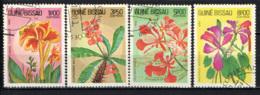 GUINEA BISSAU - 1983 - FIORI AFRICANI - USATI - Guinea-Bissau