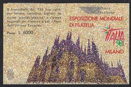 Italia 1996; Libretto : Italia 98, Esposizione Mondiale Di Filatelia. - Libretti