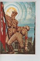 79PR/ Deutsches Reich PK Militär Und JHR Habt Doch Gesiegt C.Wien 17/3/38 - Weltkrieg 1939-45