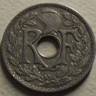 1928 - France - 25 CENTIMES, Lindauer, KM 867a, Gad 380 - France