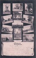 Allemagne, Holstein, Wedel Bahnhof, Minimultiphotos (19.4.1907) - Wedel