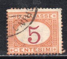 Rox 1890 Regno D'Italia Segnatasse 5c  Usato - Taxe